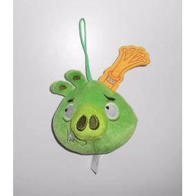 Angry Birds Peluche Del Rey Cerdo Nuevo Mide 13cm