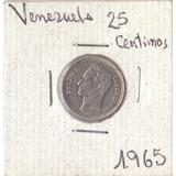 Combo De 4 Monedas De 25 Céntimos Años Varios