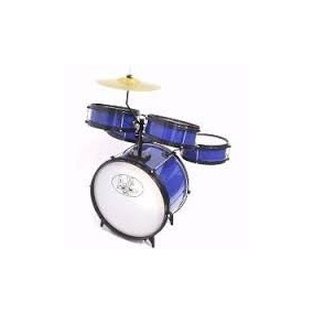 Bateria Infatil Am2 Azul 232 - Rock Baby
