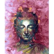 Óleo Por Números Buda Rosa.