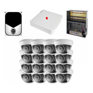 Kit Cctv Circuito Cerrado 16 Camaras Vigilancia Epcom Dh 2tb