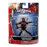 Power Rangers Figura Basica De Accion 13 Cm Bandai En Negro