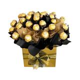 Chocolates Para Namorado Bouquet De Ferrero Rocher Masculino