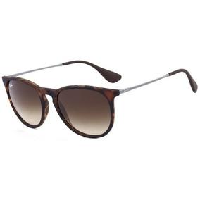 f8bff38c9d9a0 Oculos Redondo - Óculos De Sol Ray-Ban Erika no Mercado Livre Brasil