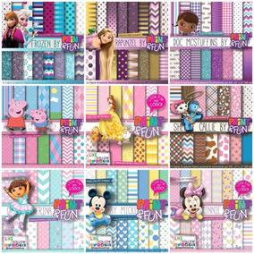 160 Kits Scrapbook Digital | Papéis De Fundo + 100 Frames