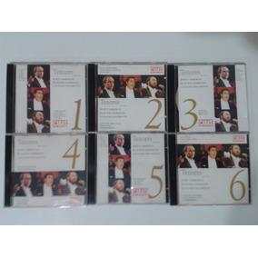 Coleção Cd Tenores-carreras-placido-pavarotti -revista Caras