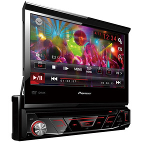 Dvd Automotivo Pioneer Retrátil Avh-3880dvd 1din