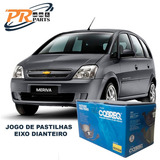 Jogo Pastilha Dianteira Cobreq N355 Meriva Joy 1.8 8v 2007