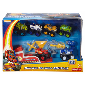 Fisher-price Nickelodeon Blaze The Monster Machines 6 Carros