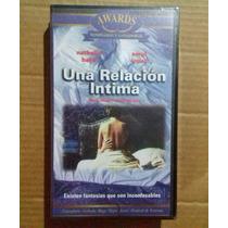 Nuevo Pelicula Una Relacion Intima Vhs Cine Arte Erotico