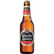 Estrella De Galicia Pack X 2 Porrones 330 Ml Importada