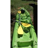 Kayak Platico Para 1 Y 2 Personas Para Carga Y Amarre