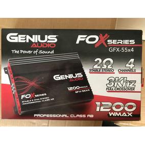Potencias Amplificador Genius 1200 Wat 4 Canales Americana