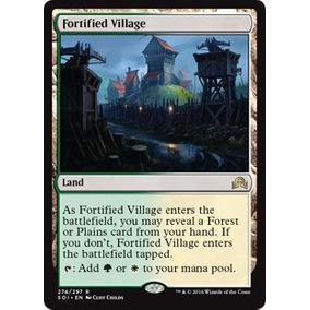 4x Aldeia Fortificada / Fortified Village - Magic