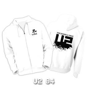 Sudaderas U2 Con Zipper - 12 Diseños Disponibles Con Envio!