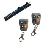 Kit Para Hacer Inalambrica Tu Alarma X28 Receptor 2 Controles Remotos