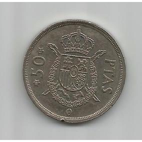 Moeda Espanha 1975 (80) - 50 Pesetas - 83