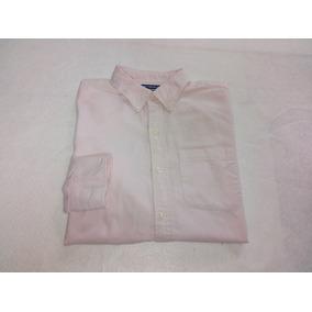 Camisa Old Navy Slim Fit Rosa