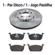 Disco E Pastilha Freio Dianteiro Nivus Comfortline Tsi 1.0
