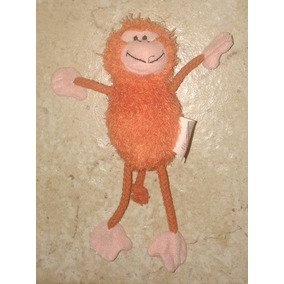 Anos 90 - Brinquedo De Pelúcia Macaco Animal Planet