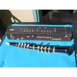 Clarinete Jugal Industria Argentina Plastico Antiguo Juguete