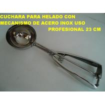 Cuchara Molde Bocha P Servir Helado 6cm Eventos Heladeria