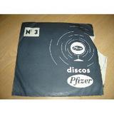 Disco Laboratorio Pfizer Simple 7 Raro Promocional Nro 3
