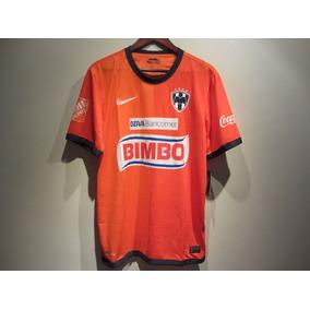 Jersey Nike Rayados De Monterrey Naranja 12/13 Nuevo M