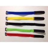 Kit 5 Velcro P/ Bateria De Lipo - Heli / Drone - 29cm X 2cm