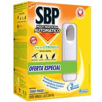 Multi Inseticida Automático Citronela Aparelho + Refil - Sbp