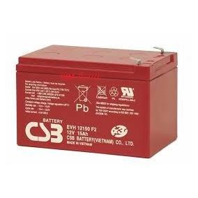 Kit 4 Bateria Gel Csb 12v 15ah Ciclo Profundo Skate Evh12150