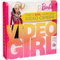 Boneca Barbie Vídeo Filma Câmera Toda Articulada