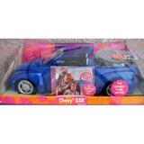 Vehículo De Barbie Cali Girl Chevy Ssr Con Reproductor De Cd