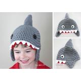 Gorro De Tiburón Tejida A Crochet Y Otros Animales