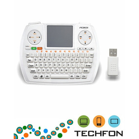 Teclado Wireless Pc Box Pcb-pk730 2.4ghz Blanco C/touch Pad