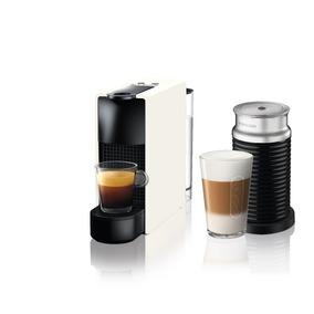 Máquina De Café Essenza Mini Blanca + Espumador De Leche