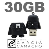 Pen Drive Darth Vader 30gb Star Wars - Geek 32gb Customizado