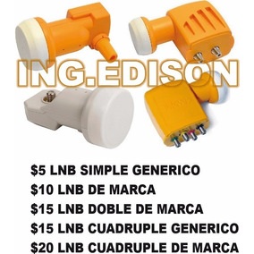 Lnb Simple Doble Cuadruple Desde $4.99 En Stock Hd Free Fta