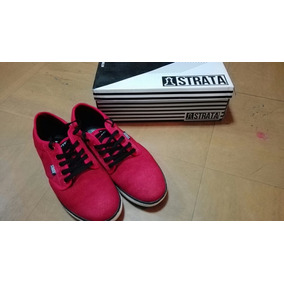 Zapatillas Strata Skate Color Rojo