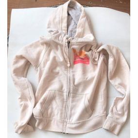 Sudadera Victorias Secret Pink - Blanca Con Capucha - Xs