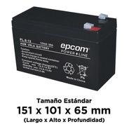 Batería Epcom De 12 V, 8 Ah, Con Tecnología Agm / Vrla