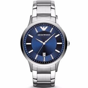 Reloj Emporio Armani Ar2477 Renato Blue Classic Time Square