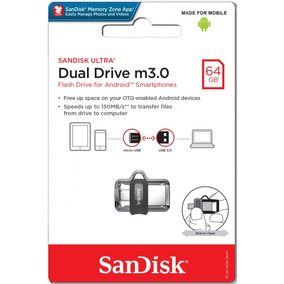 Sandisk Ultra Dual Drive M3.0 64gb Android