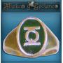 Peliculas Y Comic Anillo Linterna Verde En Plata Modelo 18