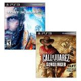 Combo 2x1 / Lost Planet 3 + Call Of Juarez Gunslinger Ps3