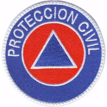 Proteccion Civil Parche Bordado Rescate Paramedico