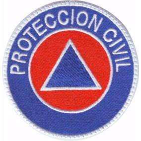 Proteccion Civil Parche Bordado Rescate Paramedico