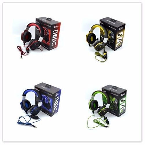 Headset Gamer Ps4 Xbox One Over Ear Fio Microfone P3 V.cores