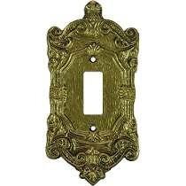Espelho P/ 1 Interruptor Colonial Pexcel 1t - 10 Unidades *