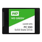 Unidad Estado Solido Ssd 120gb Wd Green Para Pc O Laptop